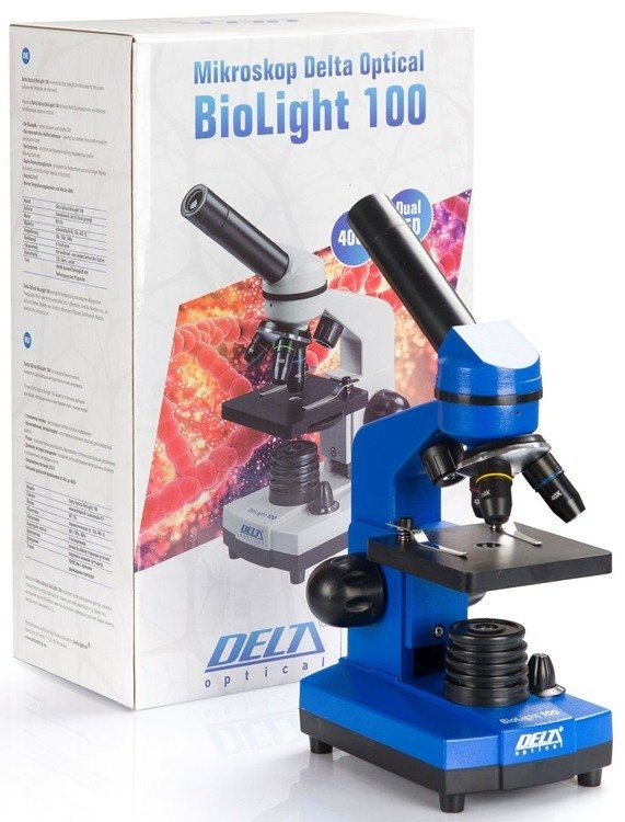 Mikroskop Delta Optical BioLight 100 Niebieski